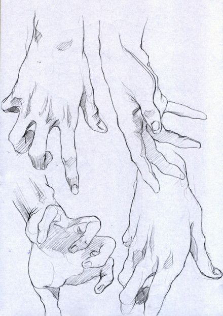 德国传奇男孩Hannes手部速写练习~自...@Jane527麦芽采集到作为漫画の资料集(3691图)_花瓣插画/漫画