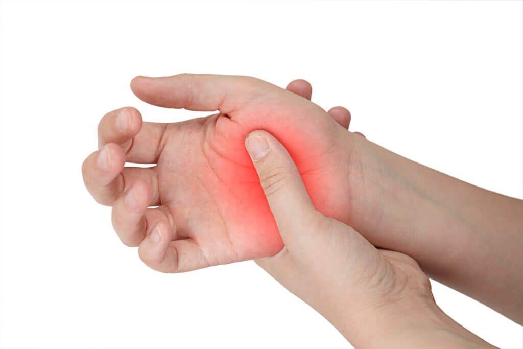 Schmerzen im Daumen -- wenn die Kraft im Daumen nachlässt