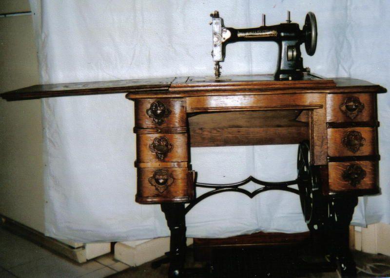 white sewing machine company antique