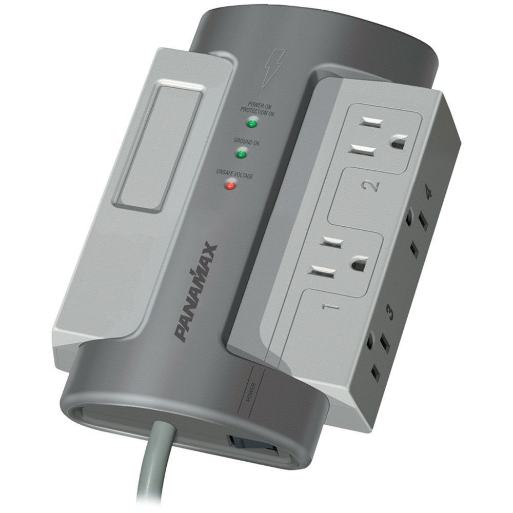 Panamax M4 Ex 4 Outlet Max R 4 Ex Surge Protector Without Lan Dsl Protection Surge Protector Surge Protectors Cool Things To Buy