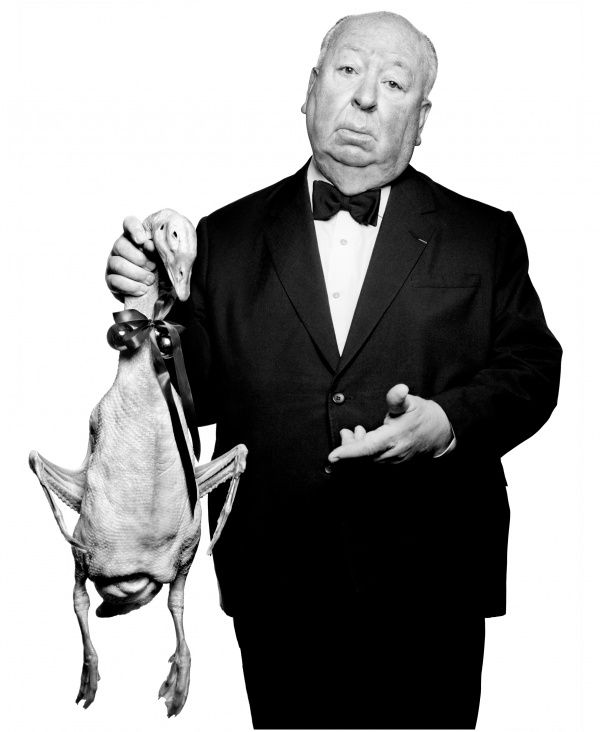 Alfred Hitchcock by Albert Watson