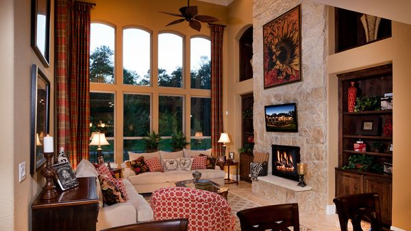 Toll Brothers Arborglen Great Room