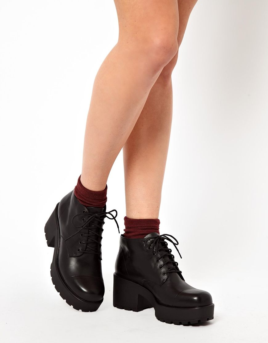 Vagabond - Dioon - Bottines lacées at asos.com