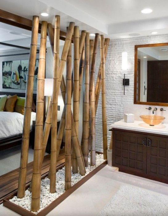 รวม 26 ไอเด ย แต งบ านด วยไม ไผ ว สด ใกล ต ว ทำง ายๆ หลากหลายประโยชน Naibann ข อม ลซ อขายบ าน บ าน Bamboo Room Divider Diy Room Divider Divider Design