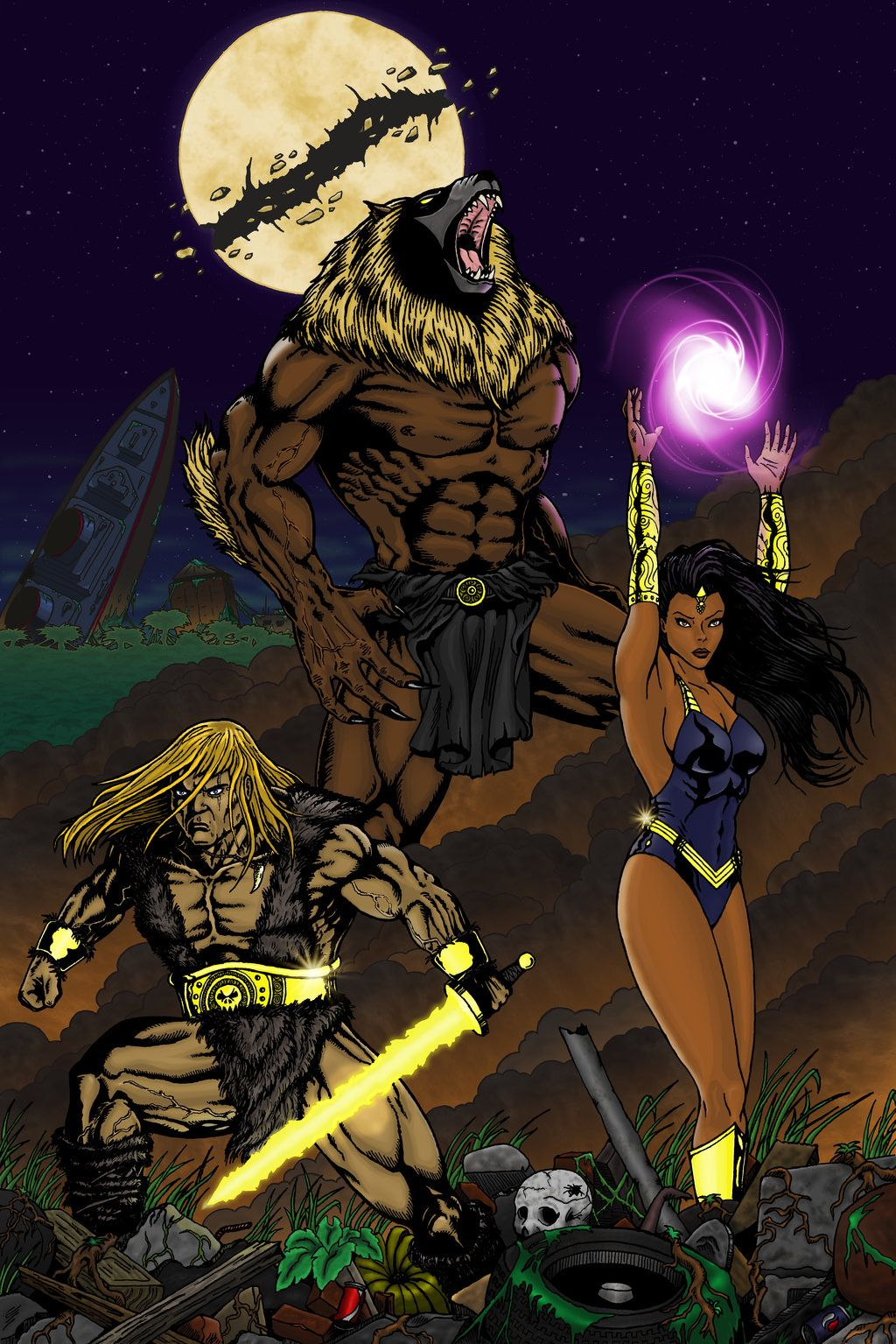 Epic Thundarr the Barbarian by colonel-red.deviantart.com on @DeviantArt