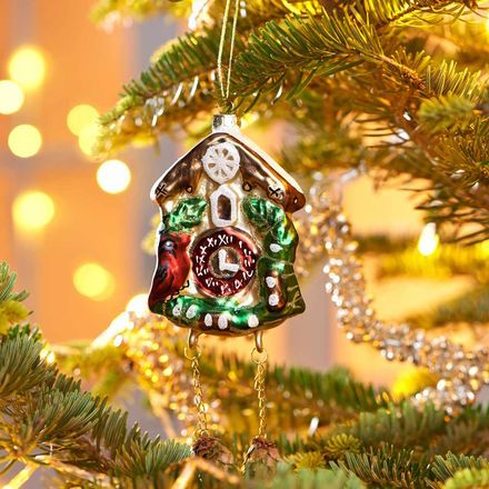 Werbung hang on anh nger kuckucksuhr butlers kukusuhr anh nger weihnachtsschmuck - Butlers weihnachten ...