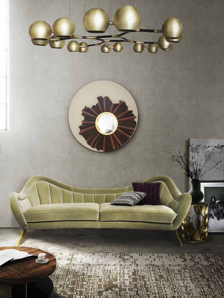 HERMES Samt Sofa | Wohndesign | Wohnzimmer Ideen | BRABBU ...
