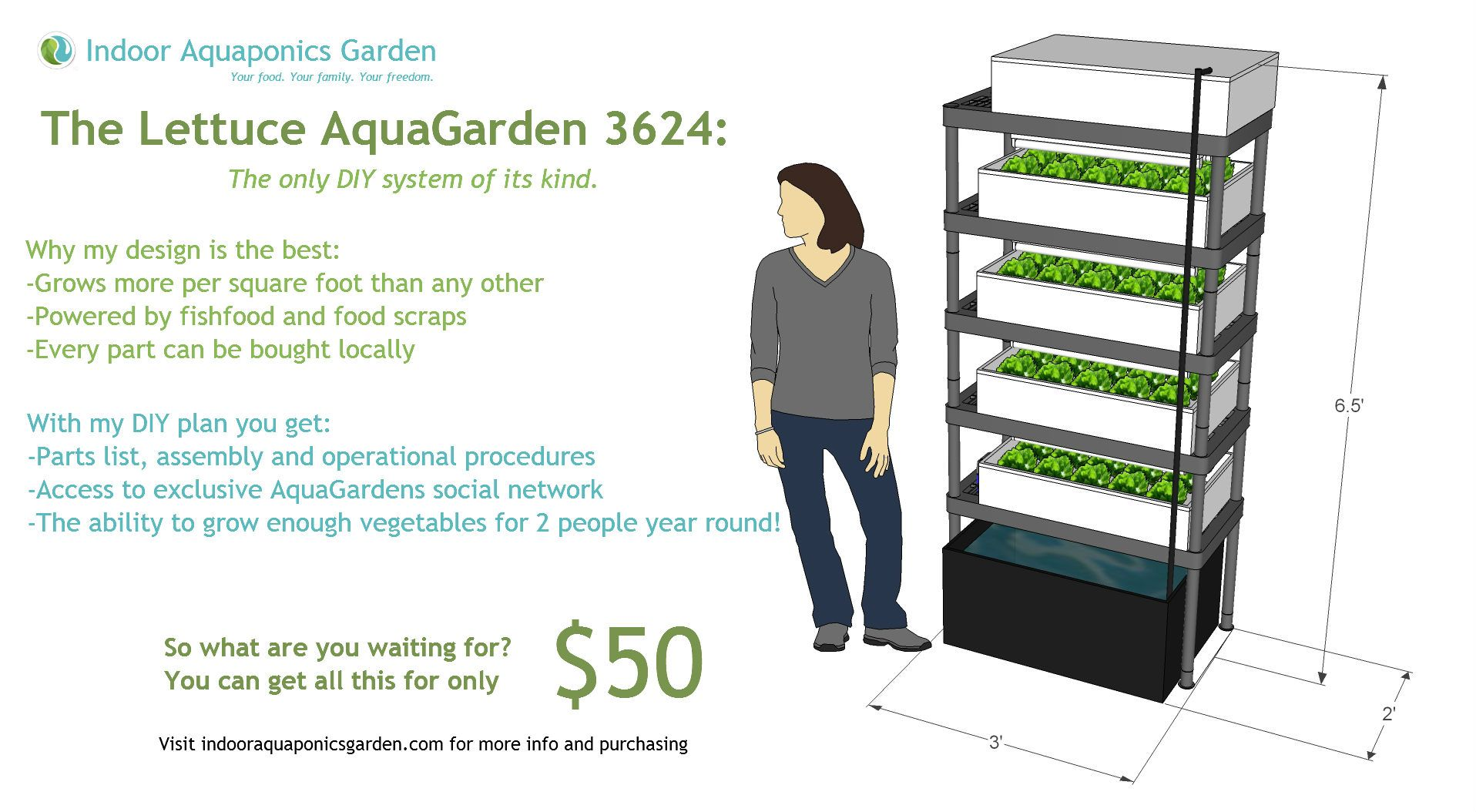 Diy Aquaponics Plans Diy Plans For Awesome Indoor