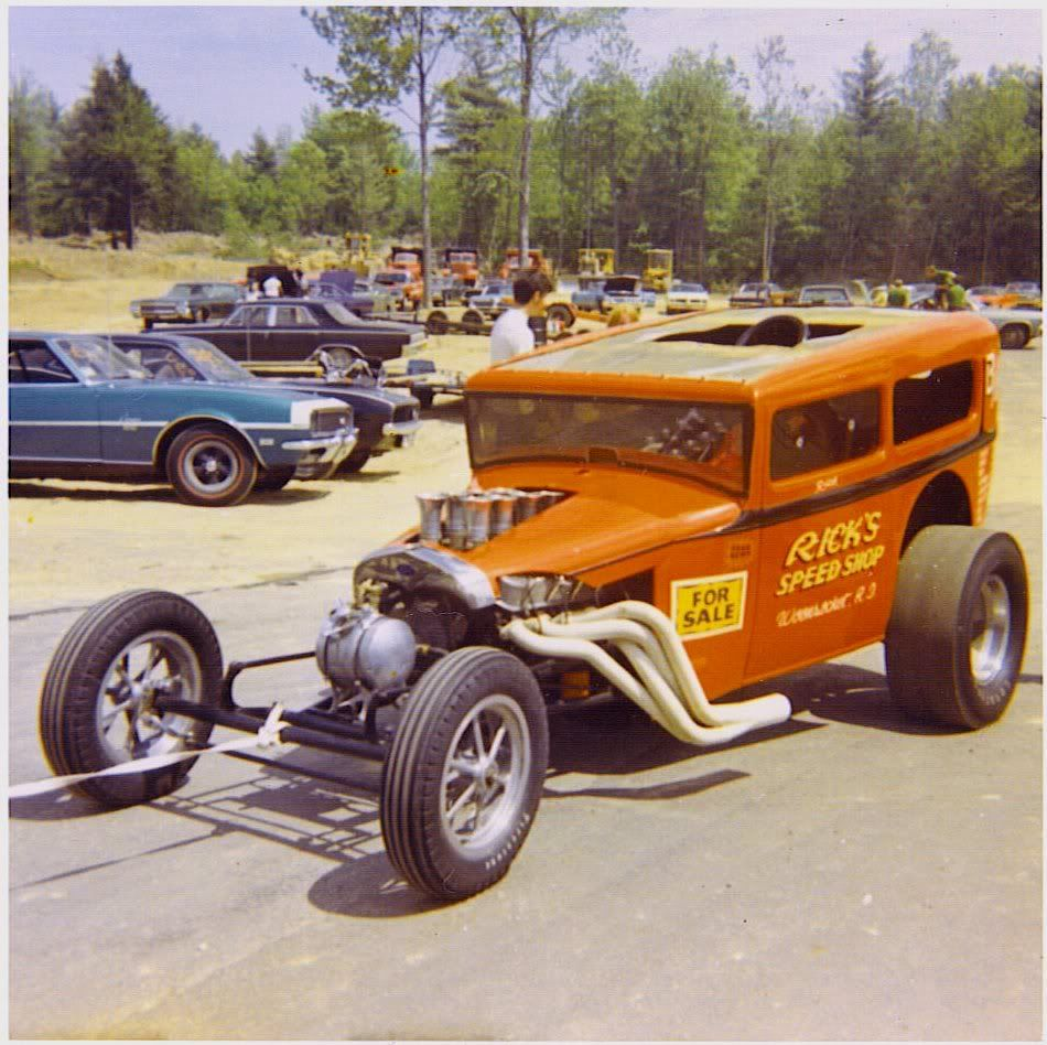 New England Dragway in Epping.