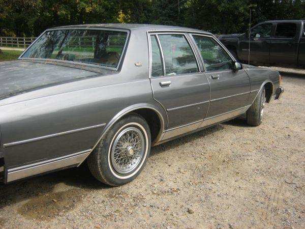 86 Chevy Caprice Classic - high asking price - Detroit area