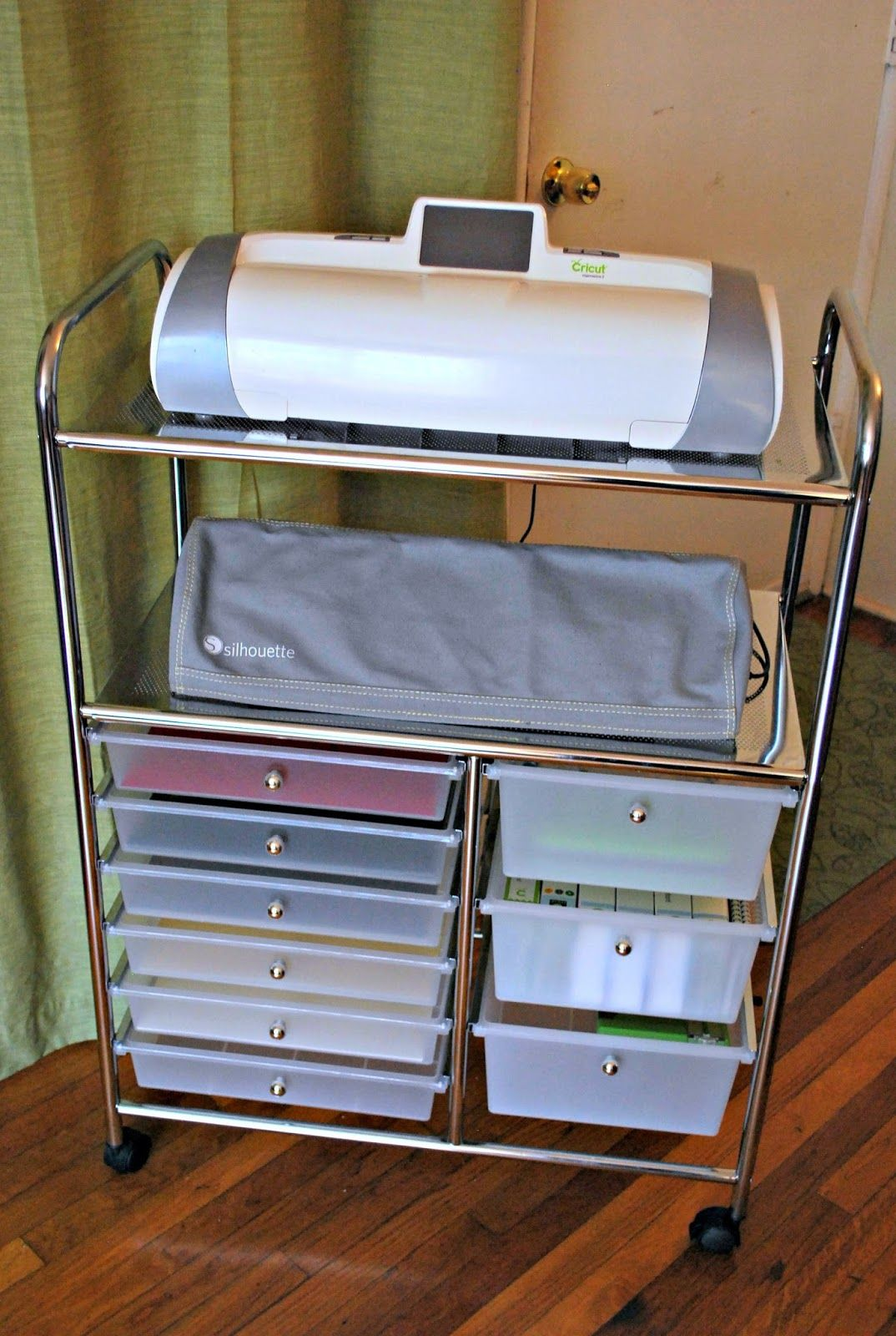 Scrapbook room storage ideas - Crafty Creations With Shemaine A Fabulous Cricut Silhouette Storage Find Scrapbook Storagescrapbook Organizationscrapbook Roomscameo