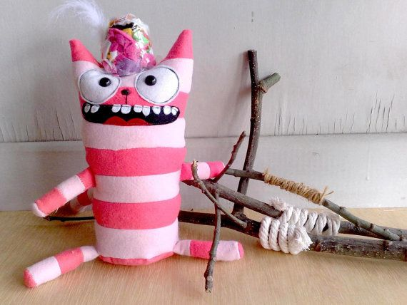 The cat with his invisible hat by zeropumpkin on Etsy, $32.00