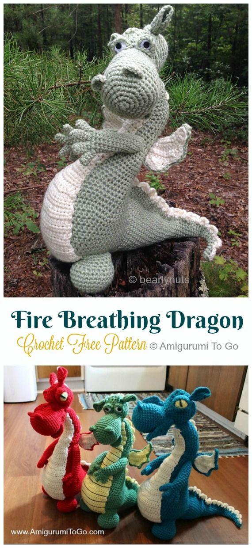 20 Amigurumi Dragon Free Crochet Patterns