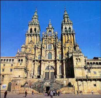 Todo Arte Arte Románico Español Arquitectura Catedral De Santiago De Compostela Santiago De Compostela Arquitectura Catedral Catedral