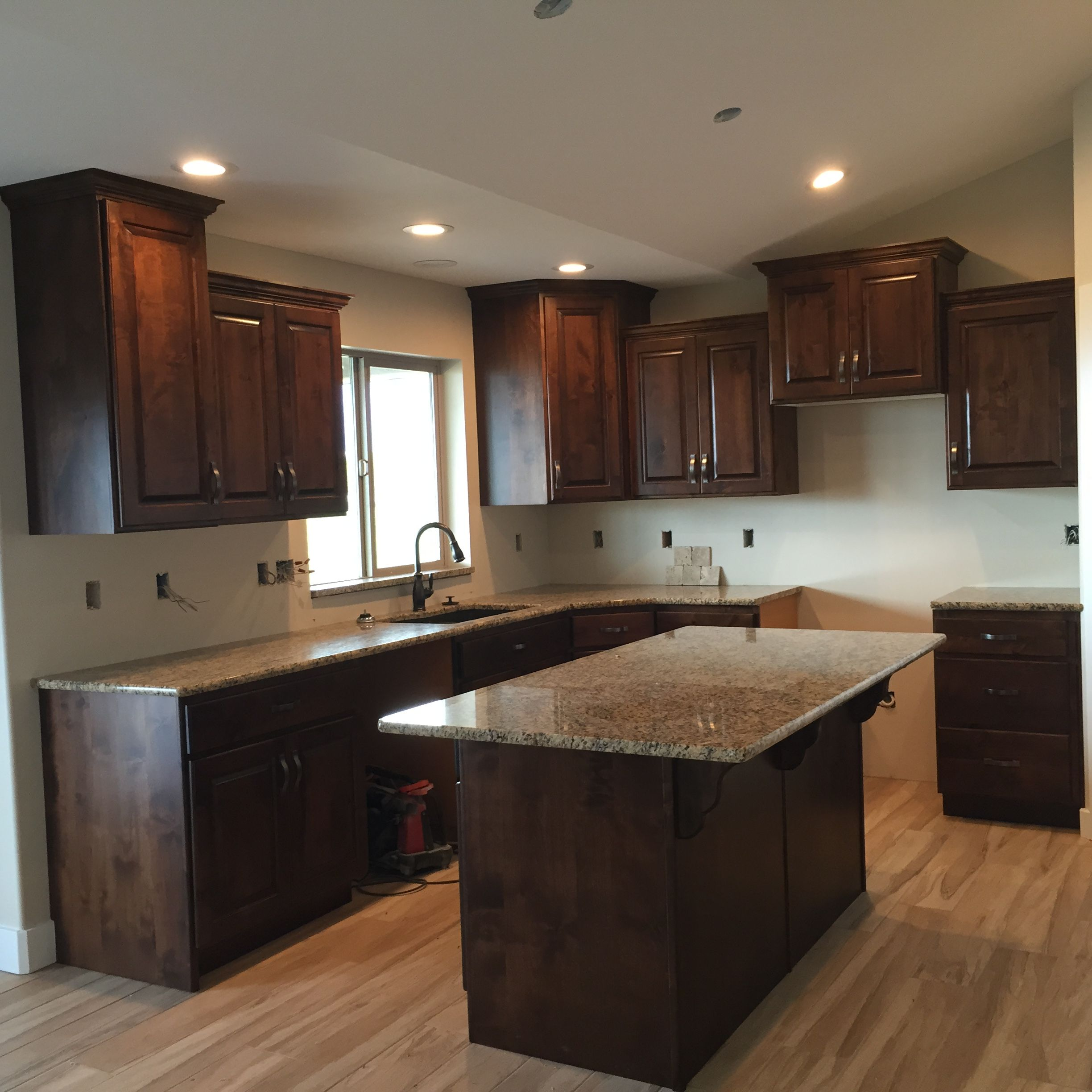 Kitchen Trends Knotty Alder Kitchen Cabinets: Stained Knotty Alder In 2019