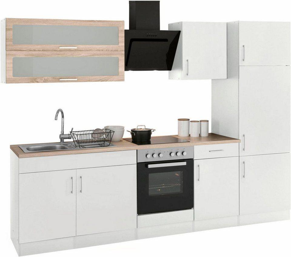 899e824e043659 HELD MÖBEL Küchenzeile mit E-Geräten »Utah«