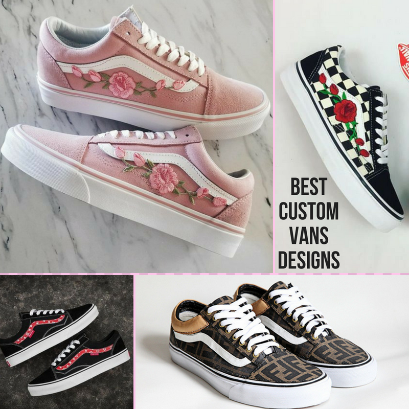 Best Custom Vans Old Skool Designs | Custom vans, Vans, Vans