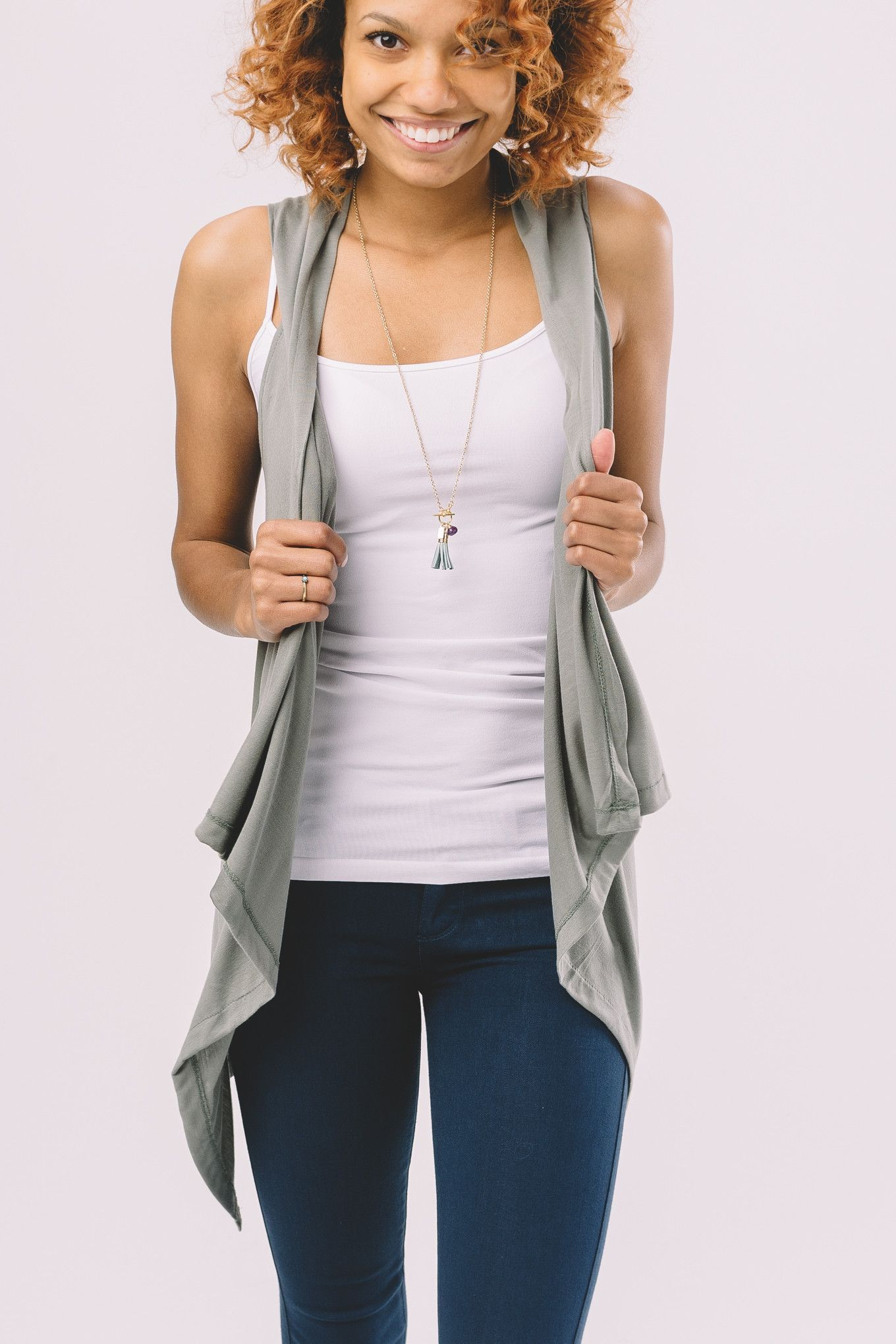 Summer Layers Vest
