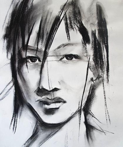 Ayaka Takahashi Von Webo Menschen Gesichter Menschen Portrat Malerei Malerei Kunstrichtung Gesicht