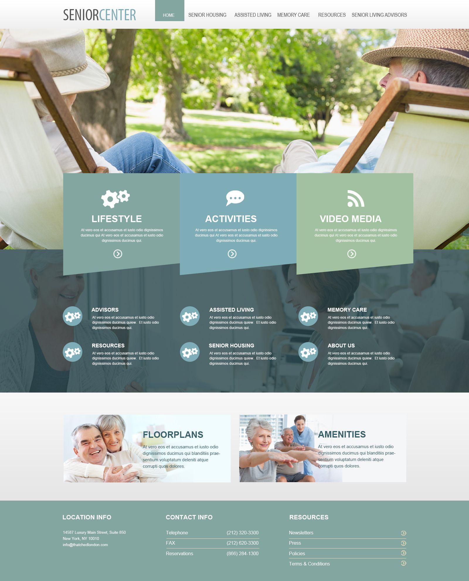 Senior websites