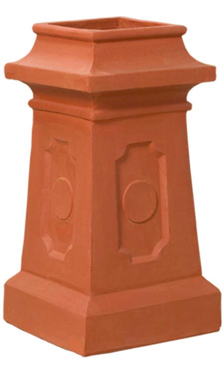 Chimney Pot Gallery Decorative Pots Cozy Place Chimney Cap