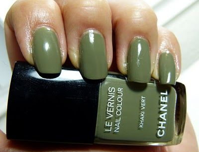 Beautyburg: March Madness! Greens All Month - Chanel Khaki Vert