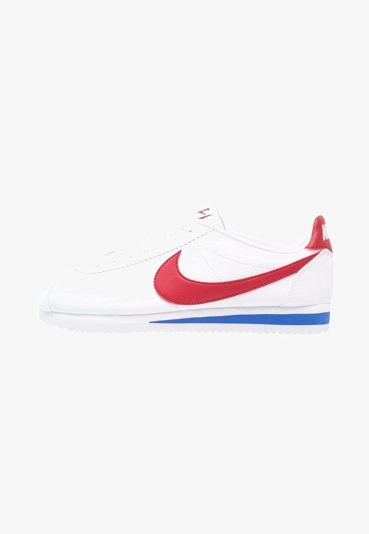new product 2f3dd a6584 Nike Sportswear CLASSIC CORTEZ - Matalavartiset tennarit - white varsity  red varsity royal -