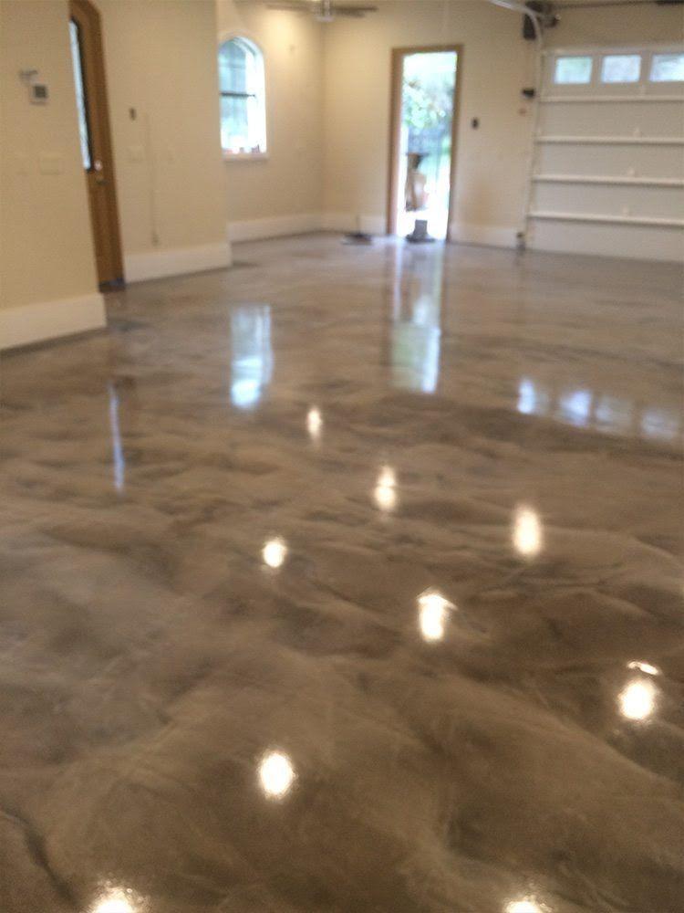 Try This Cool Metallic Calculator Metallic epoxy floor