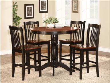Shop For Homelegance 5pc Counter Height Set 2458 36 And Other Bar Dining Room
