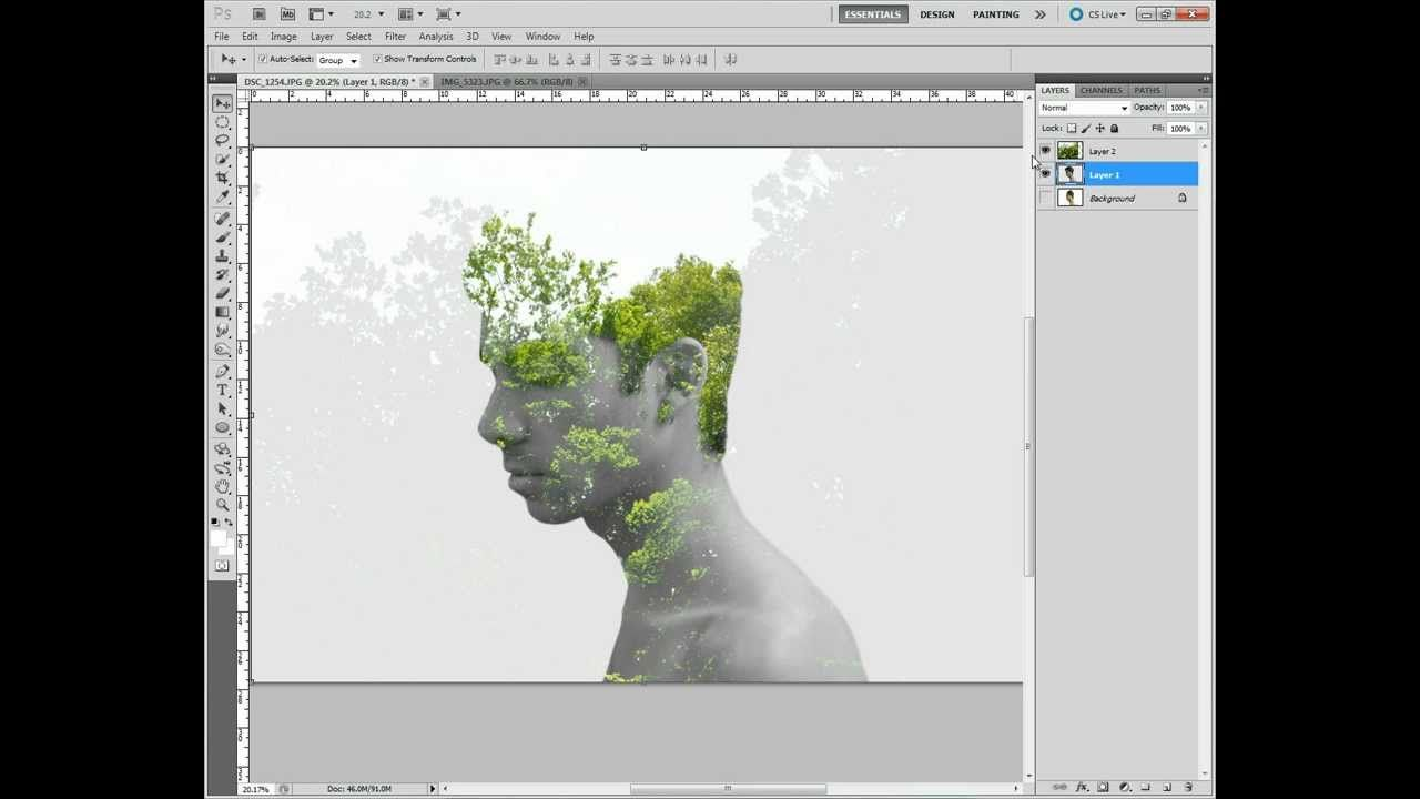 Double Exposure Tutorial Just In Case Any Of You Were Wondering :)