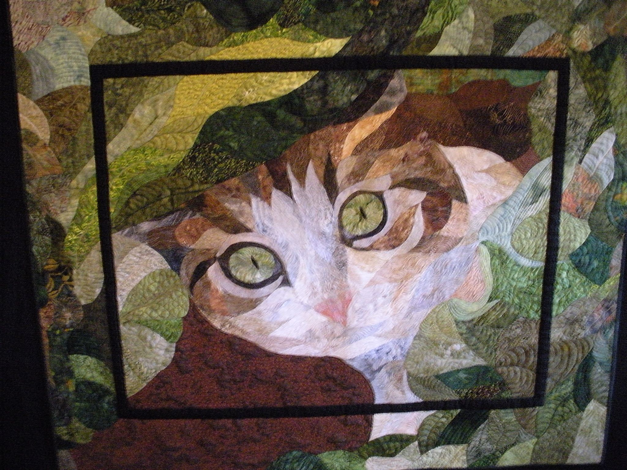 In memory of Tinkerbell. Hand appliqué quilt