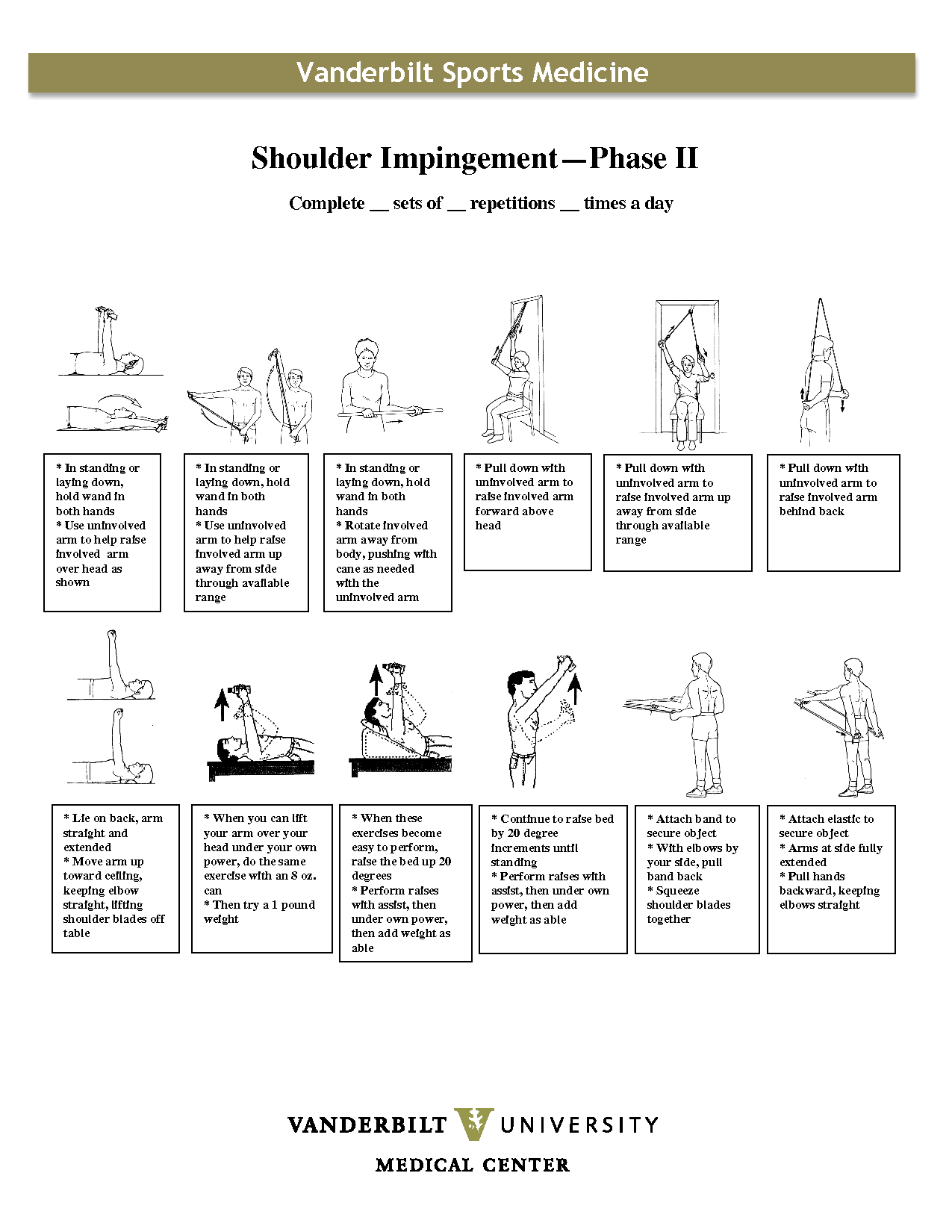 reabilitao do complexo do ombro