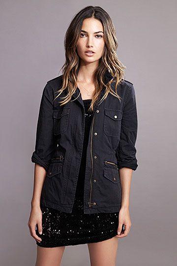 670355d433f The RUBY Jacket by Lily Aldridge for Velvet.  lilyaldridge