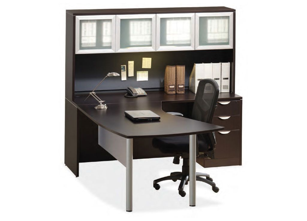 Sleek Lines And Wide Open Architecture Make This An Exhilarating Option For A Contemporary Office Desk Part Of The Encore Series From Officesource