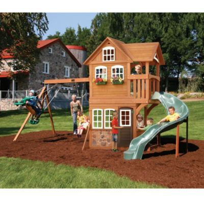 Attrayant Big Backyard By Solowave® U0027Stonefield Lodgeu0027 Play System   Sears | Sears  Canada