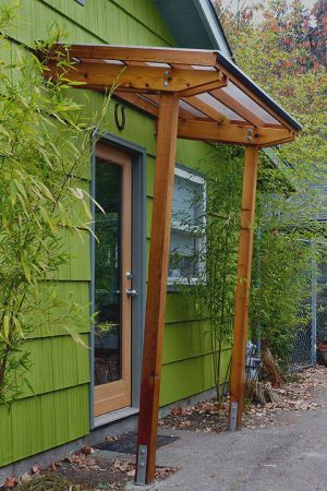 Outside Up Decks Shelters Door Awnings House Exterior Backyard