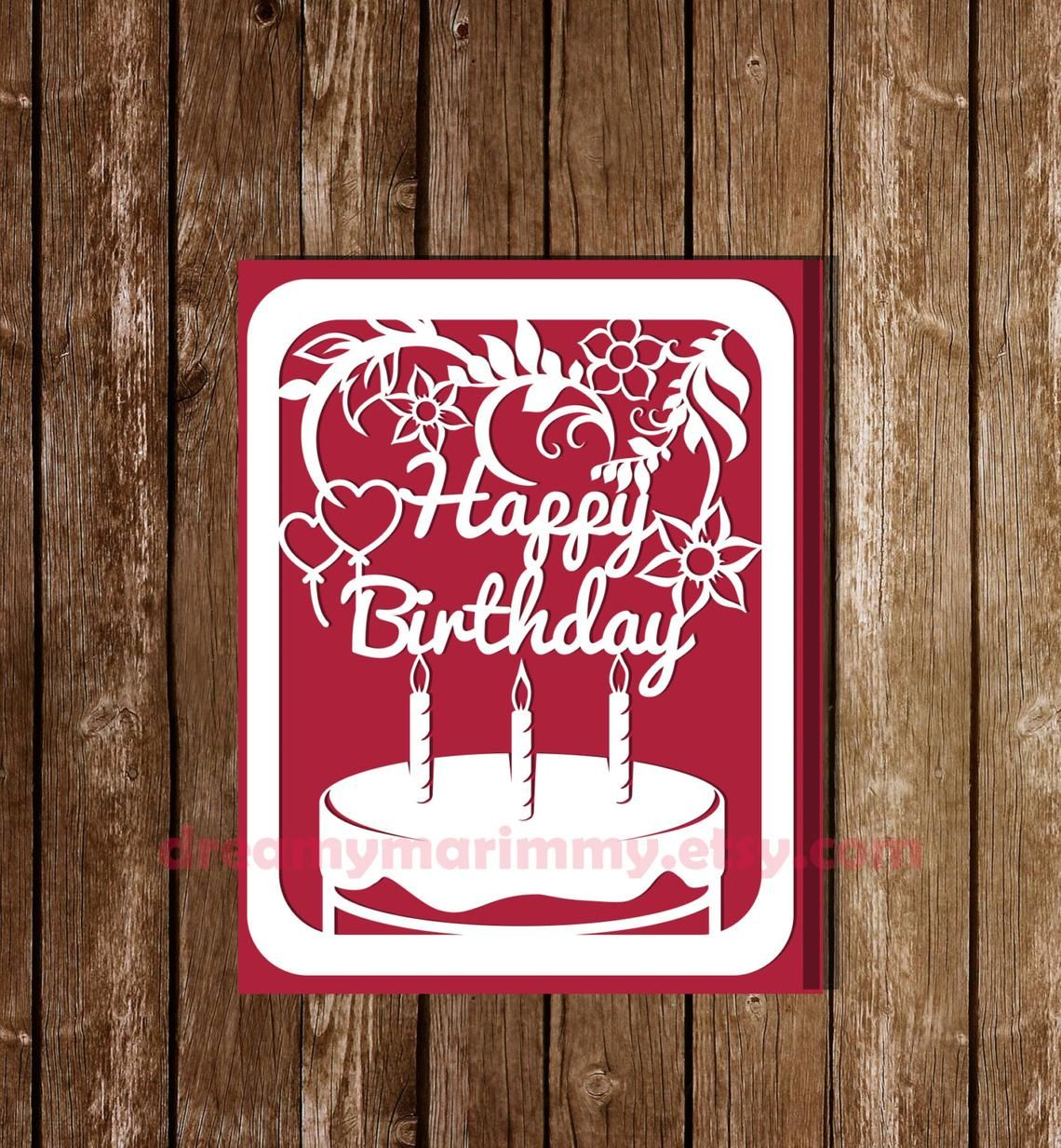 Pin on Birthday card template