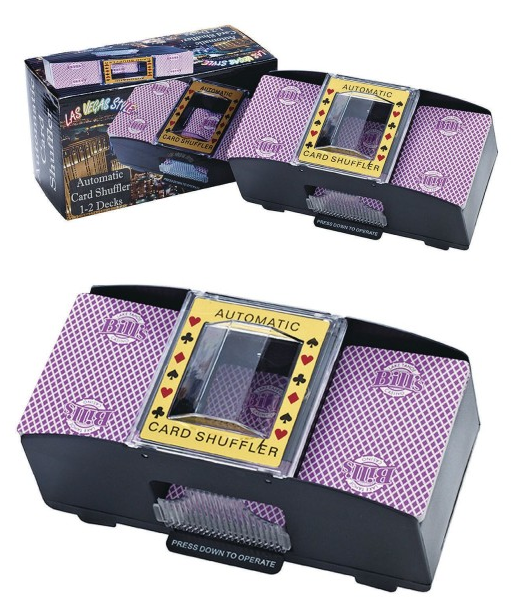 Buy Automatic Card Shuffler At S S Worldwide Cards Deck Of Cards Fun Arts And Crafts