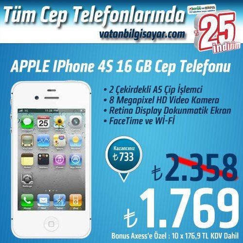 vatanbilgisayar.com 19 Ekim 2012 Tüm Cep Telefonlarında %25 İndirim Fırsatı