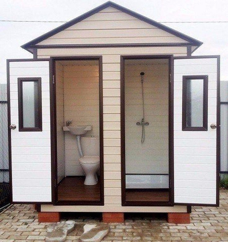25 Best Inspirations Wonderful Outdoor Pool Decorations Ideas Froggypic Com Outdoor Toilet Outdoor Bathrooms Outdoor Pool Decor