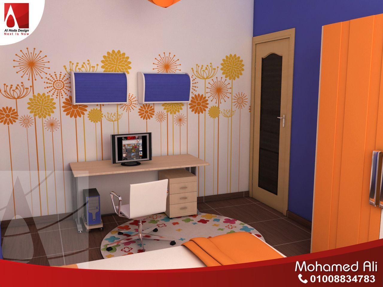 مكتب المذاكرة مع الكمبيوتر لغرفة اولاد مودرن Home Decor Loft Bed Kids Rugs