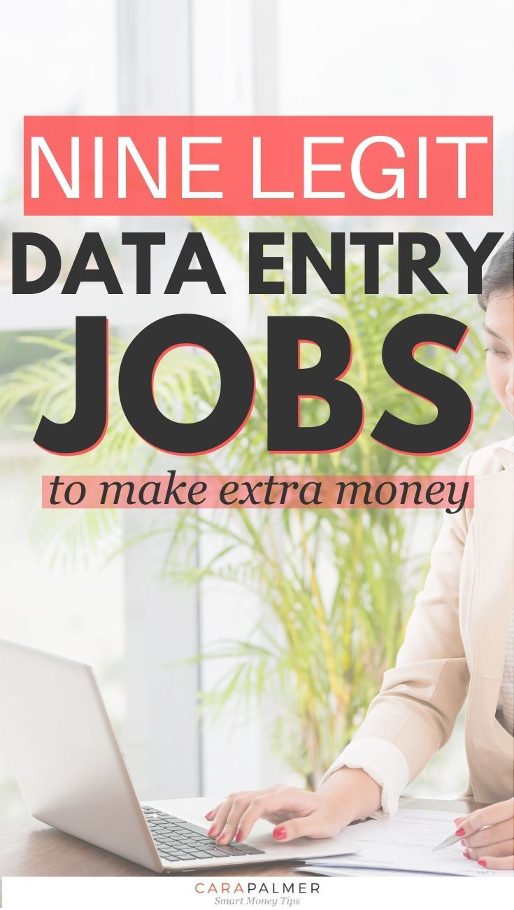 The 9 Best Home Based Data Entry Jobs For 2020