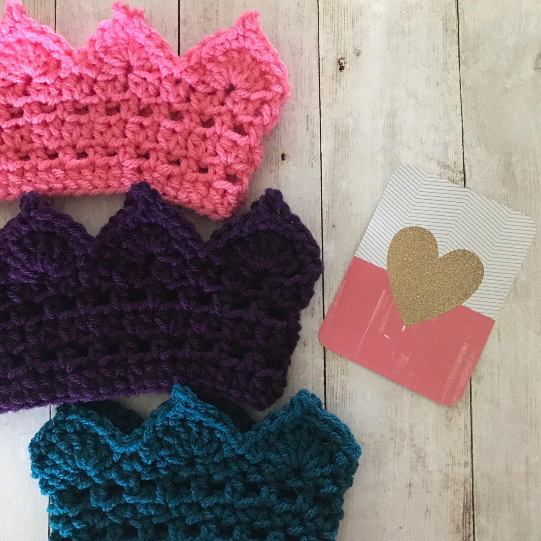 Crochet Pattern, Birthday Crown, Crochet Crown PDF, Birthday Hat ...