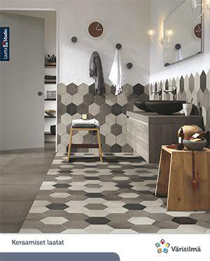 Laatat | Värisilmä | house decoration | Pinterest