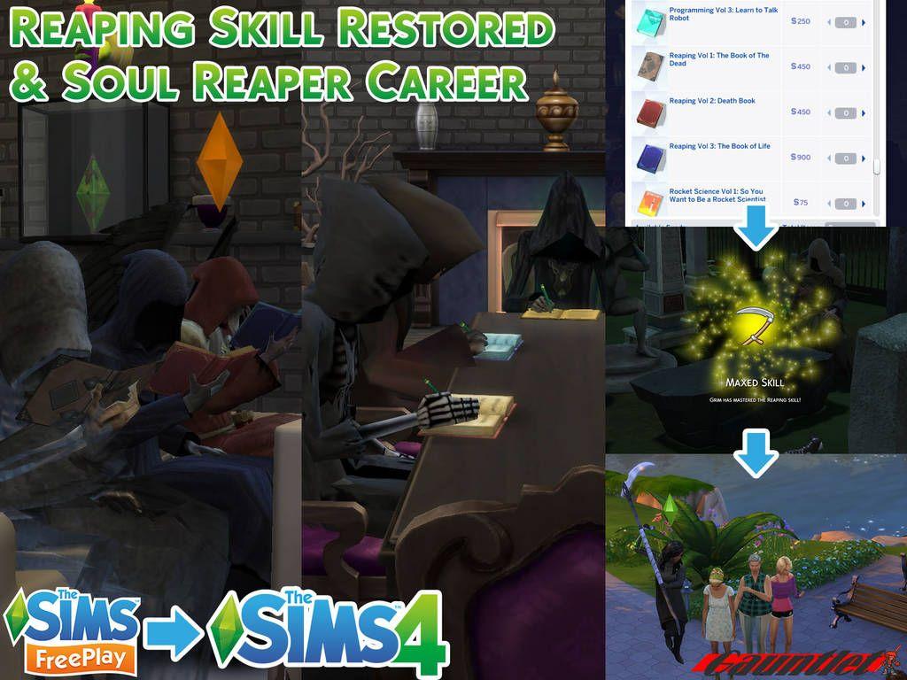 Sims 4 grim reaper cheats