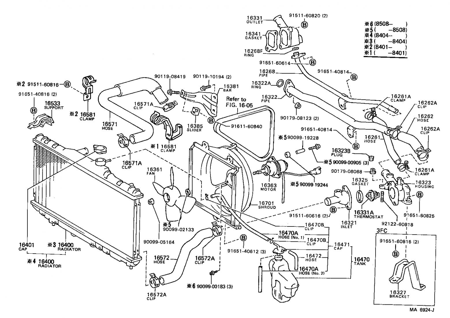 8 Toyota Corolla Engine Parts Diagram Di