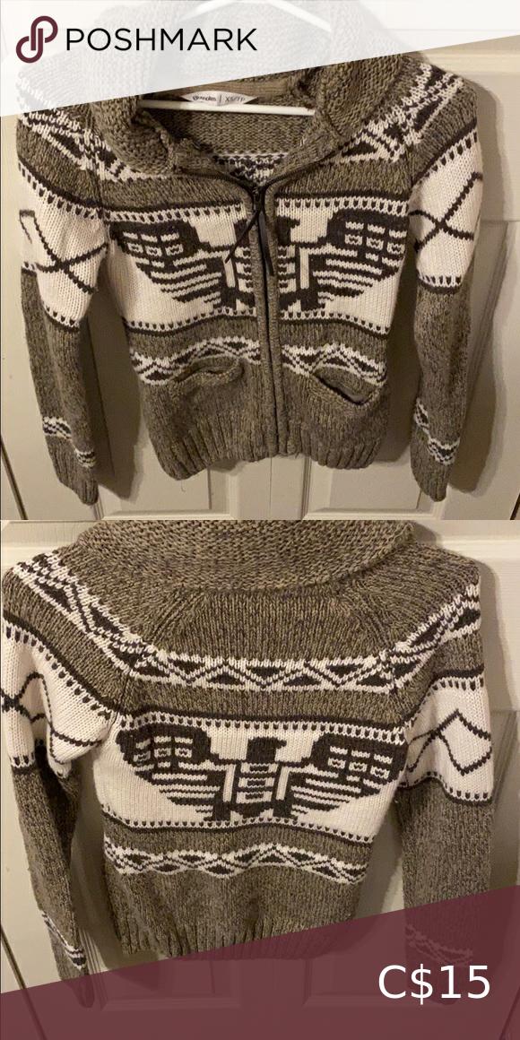 Bluenotes zip up sweater