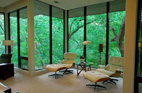 30 Interiores Destacando A Icônica Cadeira Eames Chair