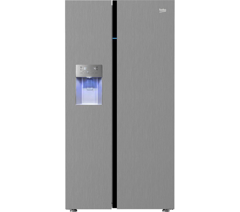 ASGP342X American-Style 60/40 Fridge Freezer - Stainless Steel ...
