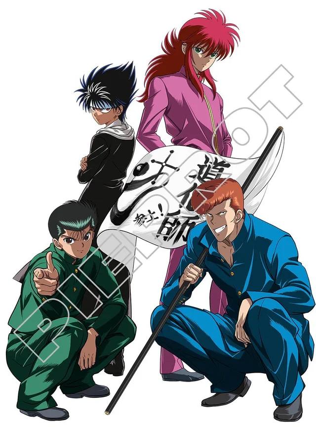 Yu Yu Hakusho Promotional Illustration From Jump Festa 2019 Yuyuhakusho Yu Yu Hakusho Anime Anime Anime Characters